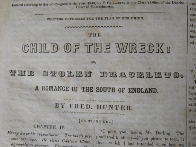 Featured Story: The Child of the Wreck